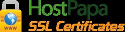 Certificados SSL de HostPapa